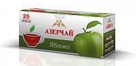 """Чай """"Азерчай"""" черный  с ароматом яблока , 25ф/п"""