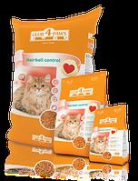 Clab 4 Paws / Клуб 4 Лапы - корм для взрослых кошек выведение шерсти, 11 кг.