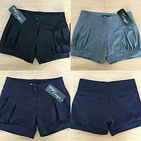 Школьные шорты для девочки №331 (р.122-146)
