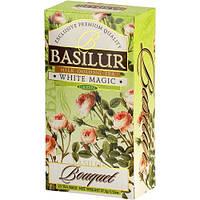 Чай зеленый Basilur Букет Белое волшебство пакетированный 25*1,5г