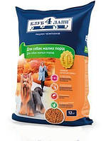 Корм для собак Clab 4 Paws / Клуб 4 Лапы для собак малых пород 12 кг
