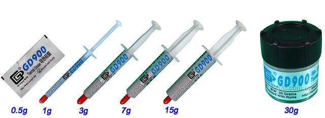 Термопаста GD900 1-3-7-15-30 g