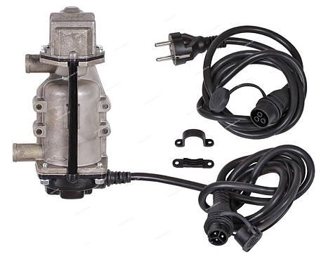 Подогреватель двигателя Северс+ 2 кВт, с насосом и бамперным разьемом, фото 2