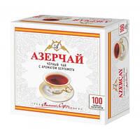 """Чай """"Азерчай"""" черный ароматом Бергамота, 100 ф/п"""