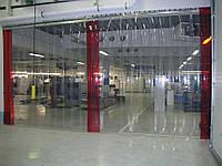 Изготовление завесы из ПВХ ленты