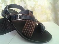 Стильные мужские сандалии Bertoni, фото 1