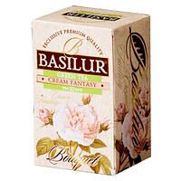 Чай зеленый Basilur Букет Кремовая фантазия пакетированный 20*1,5г