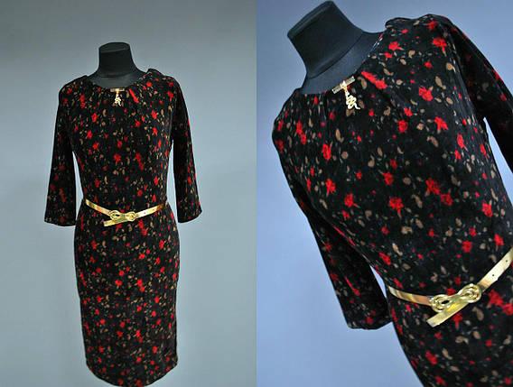 """Стильное женское платье в стиле """"Парижанки"""" Турция 42 размер, фото 2"""