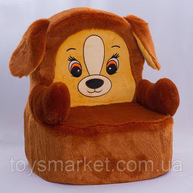 Мягкое кресло для детей,Собачка