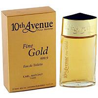 Мужская туалетная вода 10th Avenue Fine Gold 100ml. Karl Antony