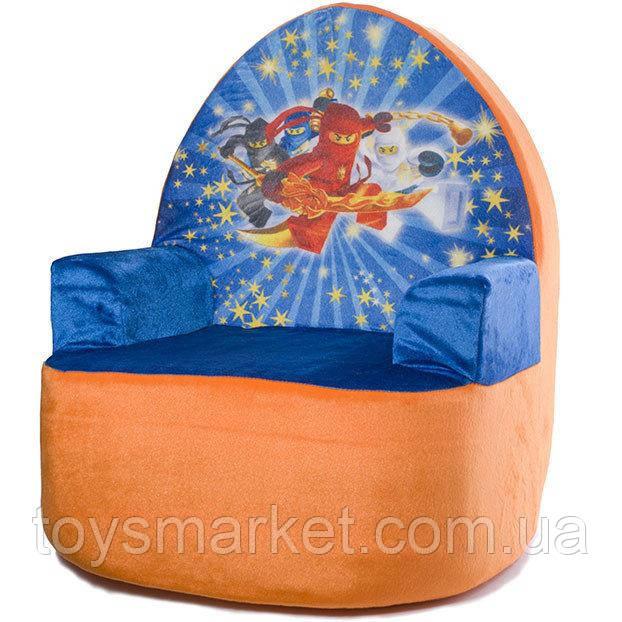 Мягкое детское кресло, Ниндзяго