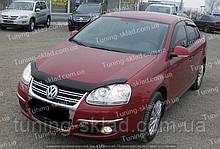 Дефлектор Фольксваген Гольф 5 (мухобойка на капот Volkswagen Golf Mk5)