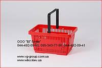 Корзины пластиковые покупательские для магазина и супермаркета. Кошики закупівельні Renzel, фото 1