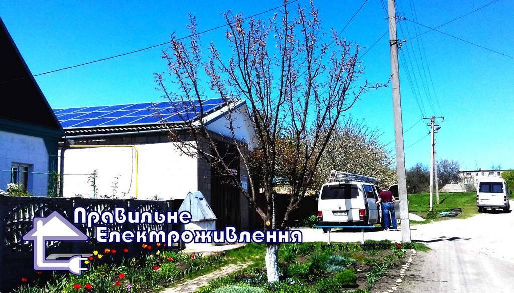 Мережева сонячна електростанція 10 кВт м. Дніпро