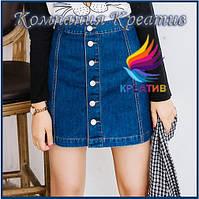 Юбки джинсовые короткие (от 50 шт.), фото 1