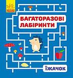Комплект «Багаторазові лабіринти для малюків». 4 книги, фото 5