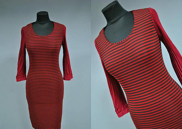 """Красивое женское платье """"плотный дайвинг"""" Турция 42, 44 размер, фото 2"""