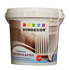 Акриловая эмаль для радиаторов Himdecor 0.25кг 0.75кг 2.5кг