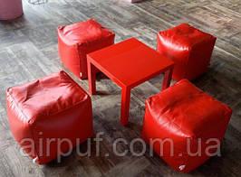 Кресло-кубик (материал эко-кожа Зевс), размер 30*30 см