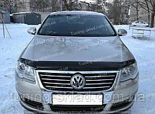 Дефлектор Фольксваген Пассат Б6 (мухобойка на капот Volkswagen Passat B6)