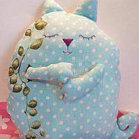 Игрушка-подушка- сплюшка кот
