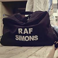 Стильная и практичная сумка-рюкзак Raf Simons. Черная