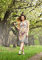 Женское легкое платье на лето