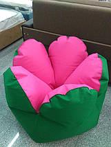 Кресло-цветок (ткань Оксфорд), размер 120 см, фото 3