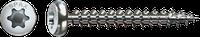 Саморізи Spax,нержавіюча сталь, напівсферична головка, T-STAR plus, повна різьба