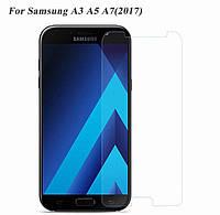 Защитное стекло для Samsung А3 А5 А7 2017 Glass Screen)