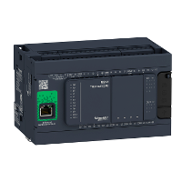 TM241CE24T Контроллер M241 24 входов/выходов транзистор PNP Ethernet