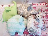 Слоник игрушка подушка