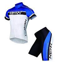Велоформа Sobike Nenk летняя велосипедная форма с памперсом