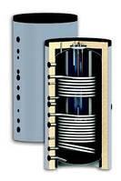 """Буферные емкости """"бак в баке"""" SUNSYSTEM серии KSC2 (с двумя теплообменниками)"""