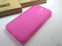 Полимерный TPU чехол Homtom HT3 (розовый)