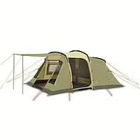 Палатка кемпинговая 4 -х местная Pinguin Interval 4 green, арт. PNG 1315