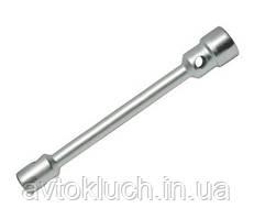 Ключ баллонный, размер 27 * 30 (L-360мм, D-25мм, 40Х, цинк) (Техник)
