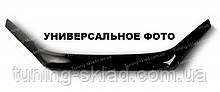 Дефлектор  Фольксваген Поло 5 седан (мухобойка на капот Volkswagen Polo 5 sedan)