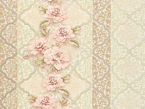Обои На стену, цветы, полоски,  дуплексные, B64,4 Ансамбль 8051-05, 0,53*10м, фото 2
