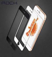 Защитное стекло ROCK Tempered (3D) Glass Soft Edge series для iPhone 7 белый
