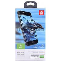 Защитное стекло для iPhone 7 Plus Baseus Glass 0.2 mm Silk Screen Printed box черный