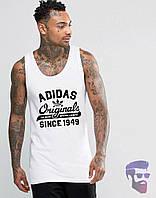Майка борцовка мужская Adidas Originals Адидас