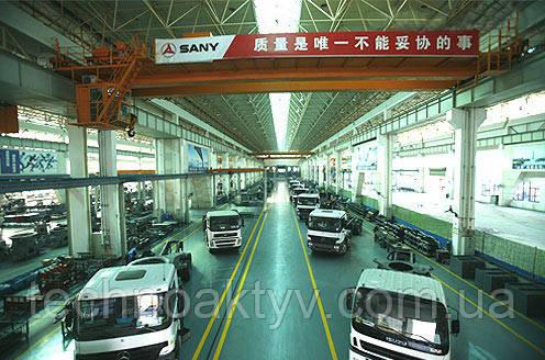 Производственный цех Sany