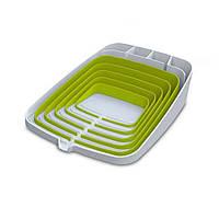 Сушилка для посуды Joseph Joseph Arena бело-зеленая