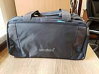 Компактная дорожная-спортивная сумка Wenhao. Серая