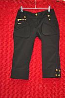 Чёрные женские шорты
