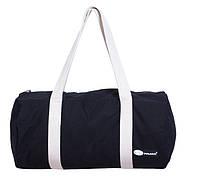 Спортивная тканевая сумка. Черная