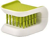 Щетка для мытья столовых приборов и ножей Joseph Joseph Blade Brush зеленая