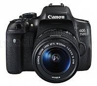Аппарат CANON EOS 750D + Объектив 18-55