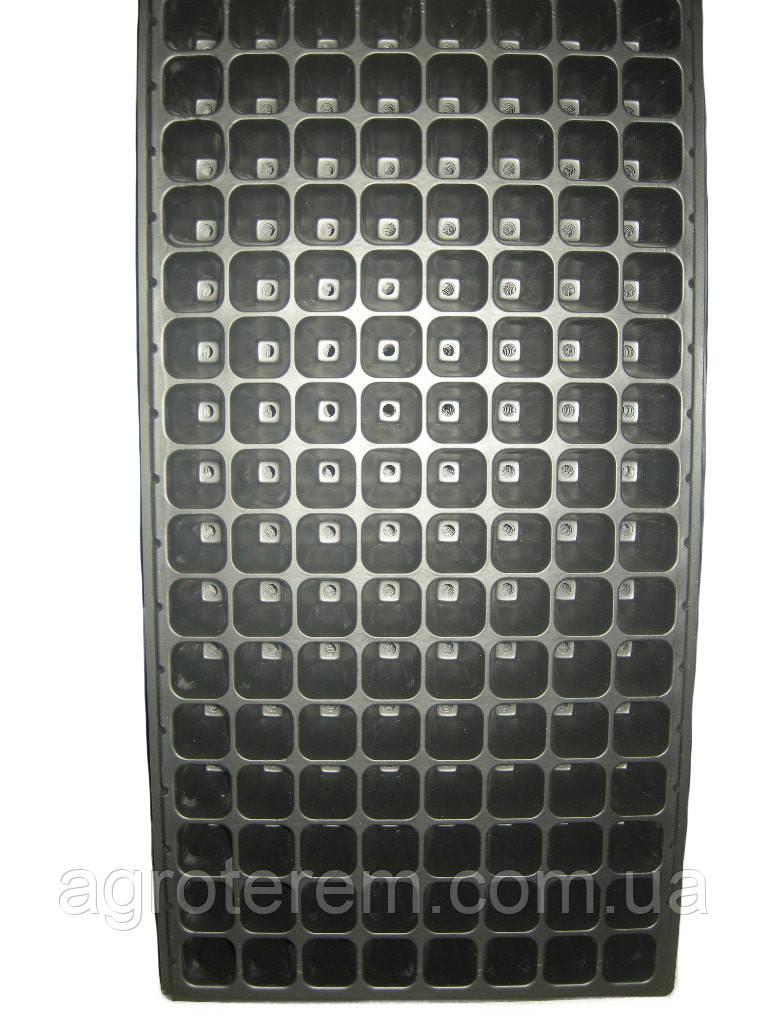 Кассета для рассады 128 ячеек,размер кассеты 54х28см,толщина стенки 0,70мм